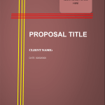 Loan Proposal Template