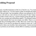 Wedding Proposal Template